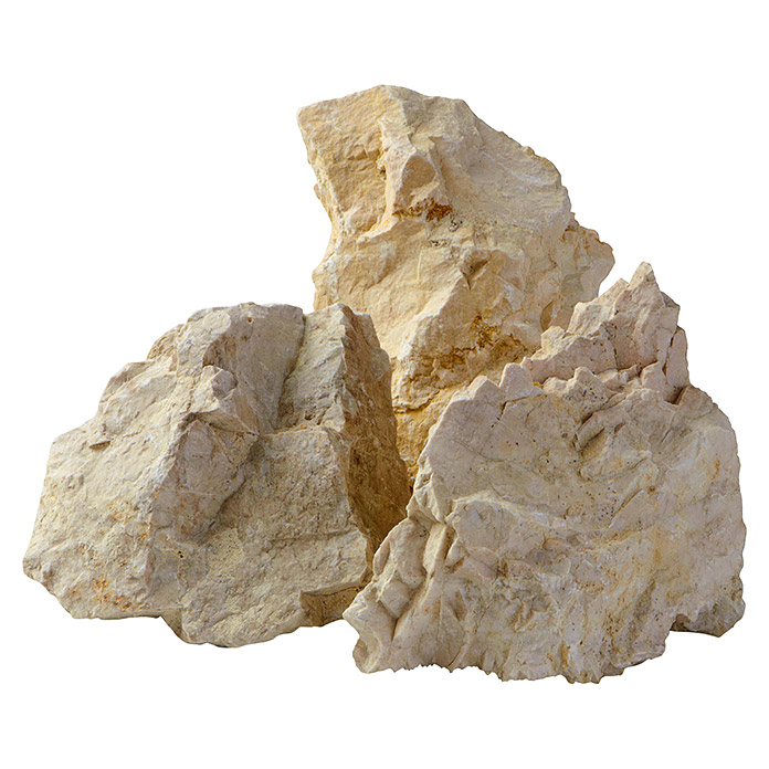Ziersteine Bianco Zandobbio Big Bag 50 - 70 mm