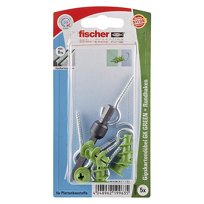 fischer Greenline Gipskartondübel-Set RH GREEN
