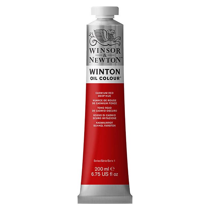 Winsor & Newton Winton Ölfarbe Kadmiumrot