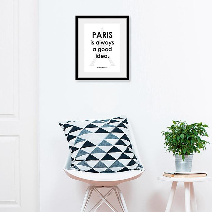 Image encadrée Paris
