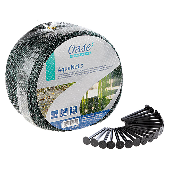 Filet de protection pour bassin OASE AquaNet 3