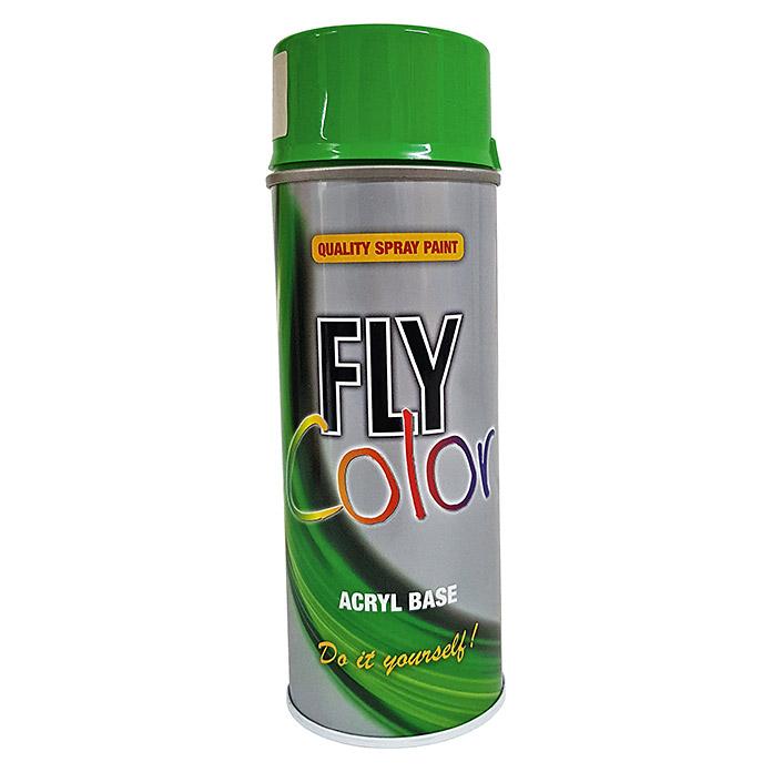 Laque en aérosol Fly Color vert feuillage RAL 6002