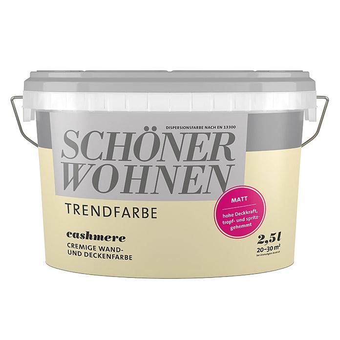 Peinture tendance SCHÖNER WOHNEN Cashmere