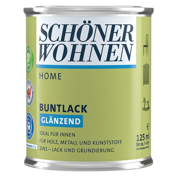 SCHÖNER WOHNEN HOME Buntlack Limettengrün glänzend