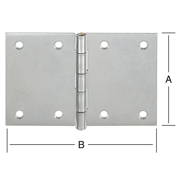 STABILIT DIN Charnière 70 x 105 mm