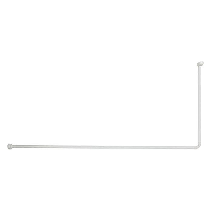 VENUS Duschvorhangstange 70 x 170 cm Weiss