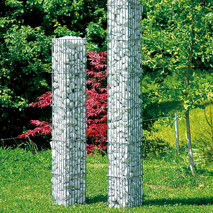 Gabion pour colonne de pierre petit Bellissa