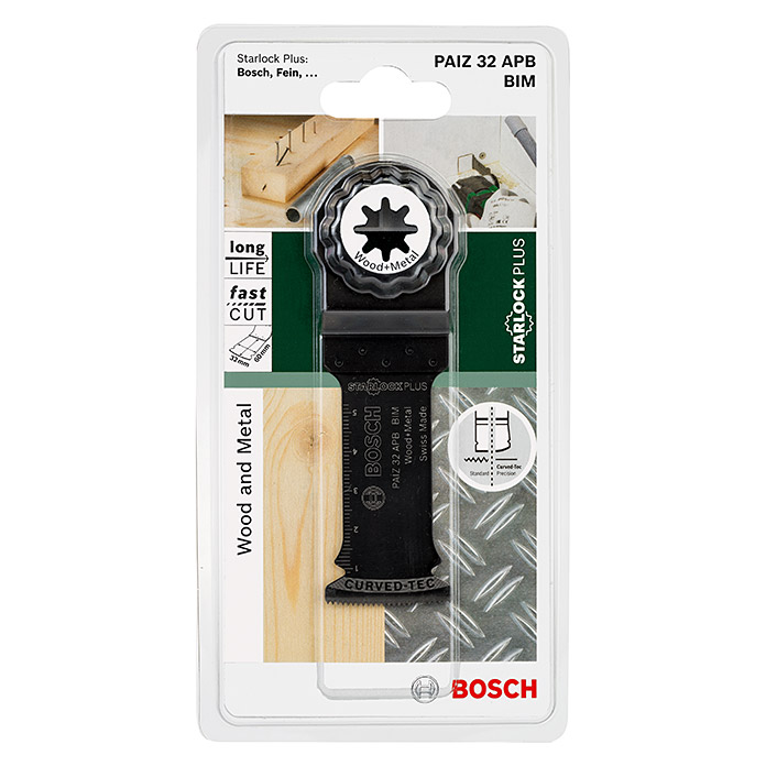 BOSCH Tauchsägeblatt Wood and Metal PAIZ 32 APB