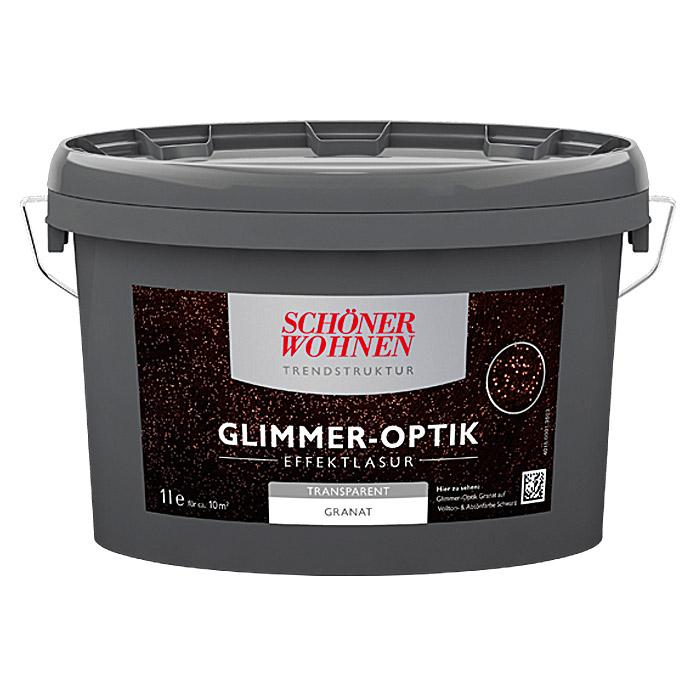 SCHÖNER WOHNEN Glimmer-Optik Effektlasur Granat