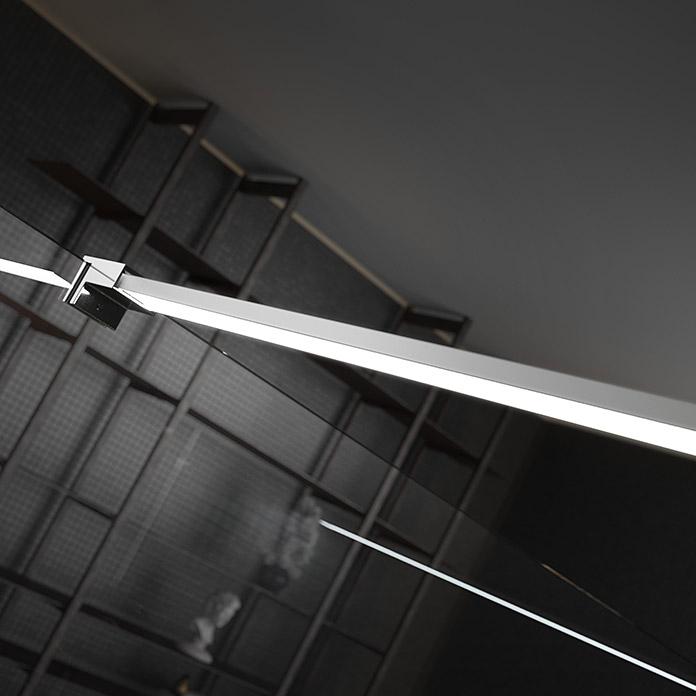 LED-Strebe für Duschwände 90cm