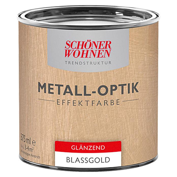 SCHÖNER WOHNEN Peinture spéciale aspect métallique