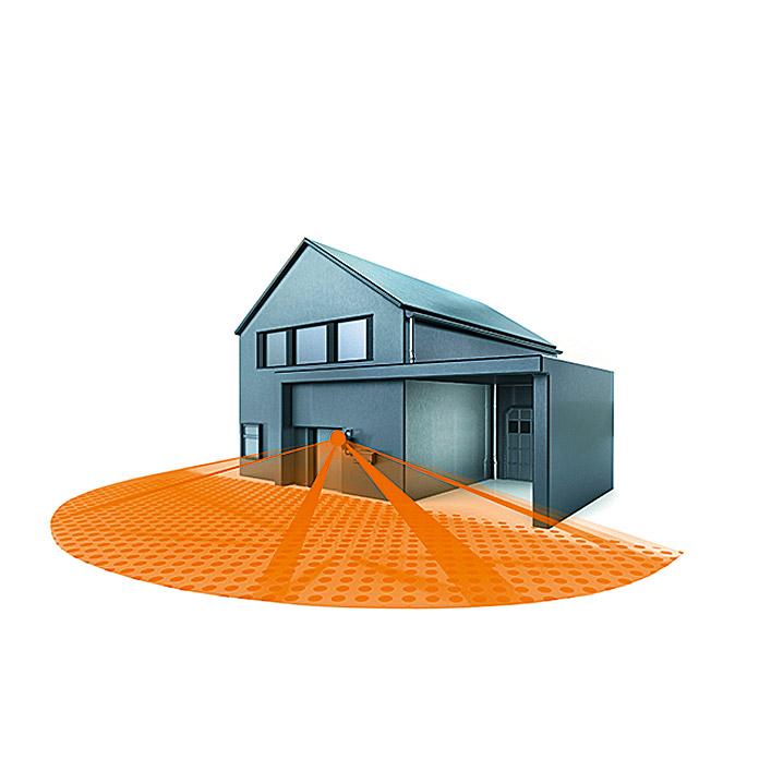 STEINEL® Infrarot-Bewegungsmelder IS 180-2