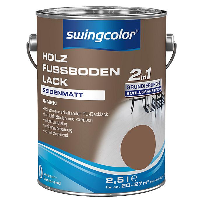 swingcolor 2in1 Holzfussbodenlack Beigebraun