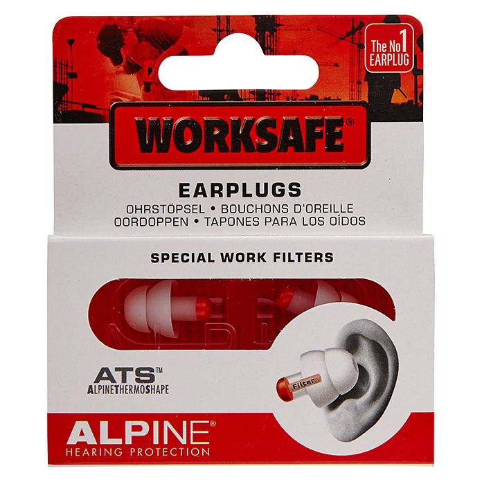 Alpine Gehörschutzstöpsel Worksafe
