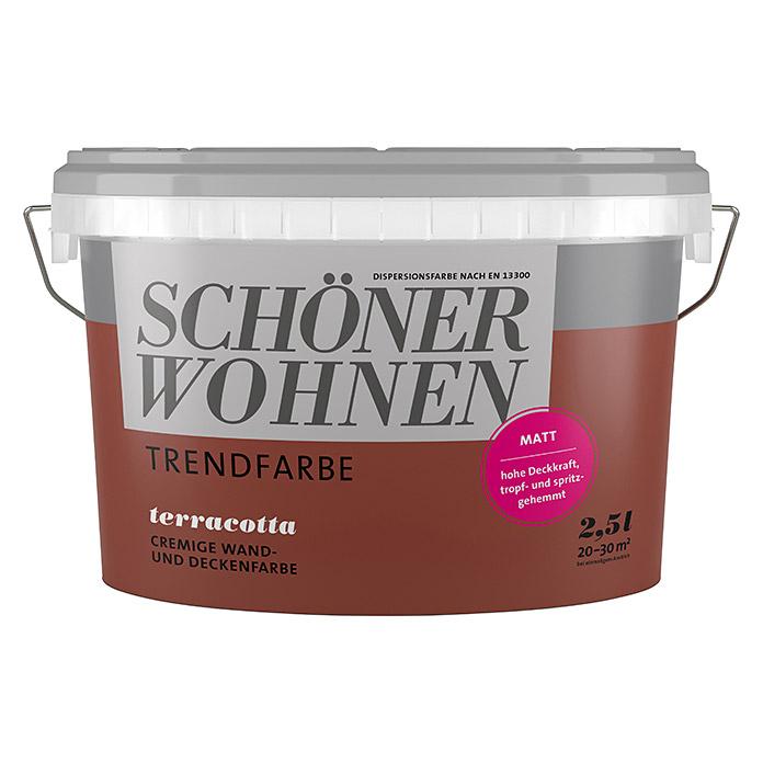 SCHÖNER WOHNEN Trendfarbe Terracotta