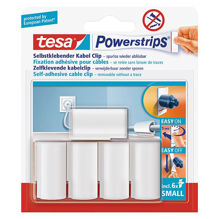 tesa Powerstrips Kabel-Clip