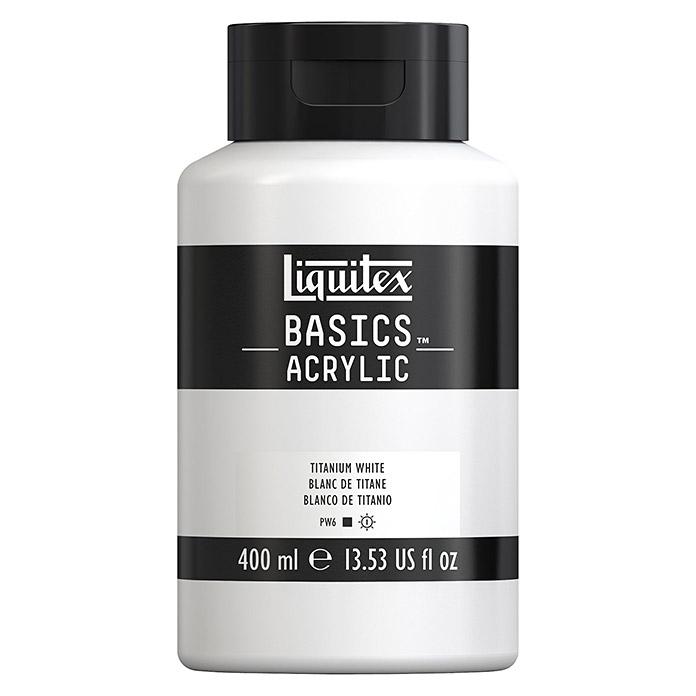 Liquitex Basics peinture acrylique blanc titane