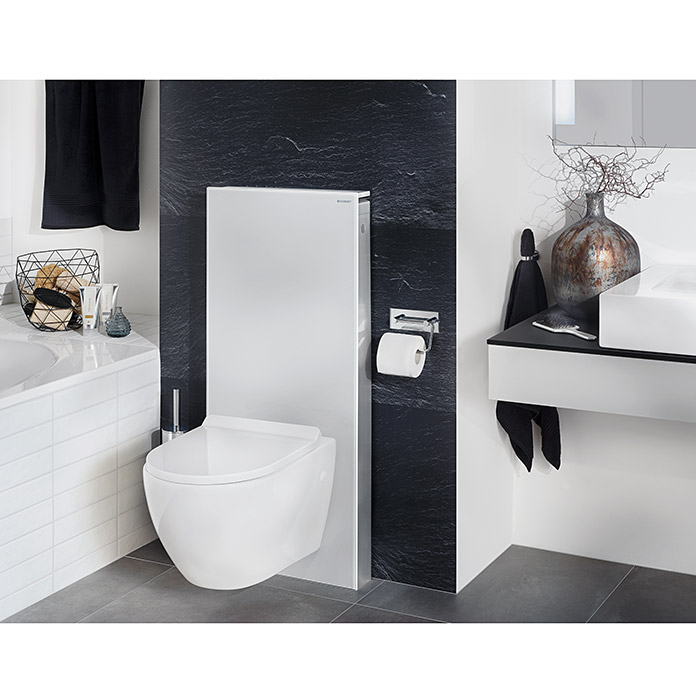 Geberit Sanitarmodul Fur Wand Wc Monolith Bei Bauhaus Kaufen