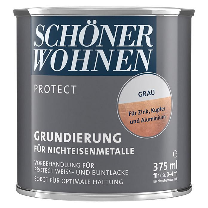 SCHÖNER WOHNEN PROTECT Grundierung für Nichteisenmetalle Grau