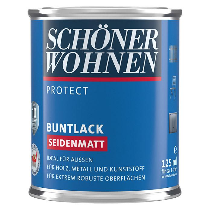 SCHÖNER WOHNEN PROTECT Buntlack Muskatbraun seidenmatt