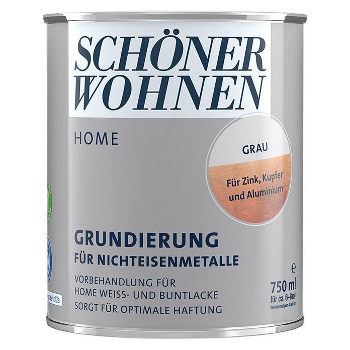 SCHÖNER WOHNEN HOME Apprêt pour les métaux non ferreux gris