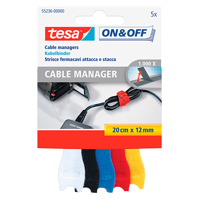 tesa on&off Cable Manager