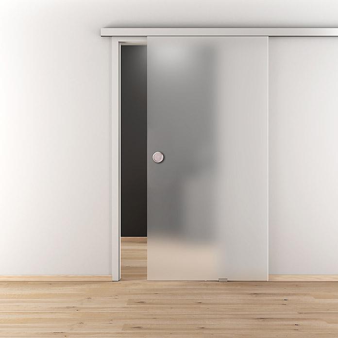 Porte coulissante en verre Luminato DIAMOND DOORS