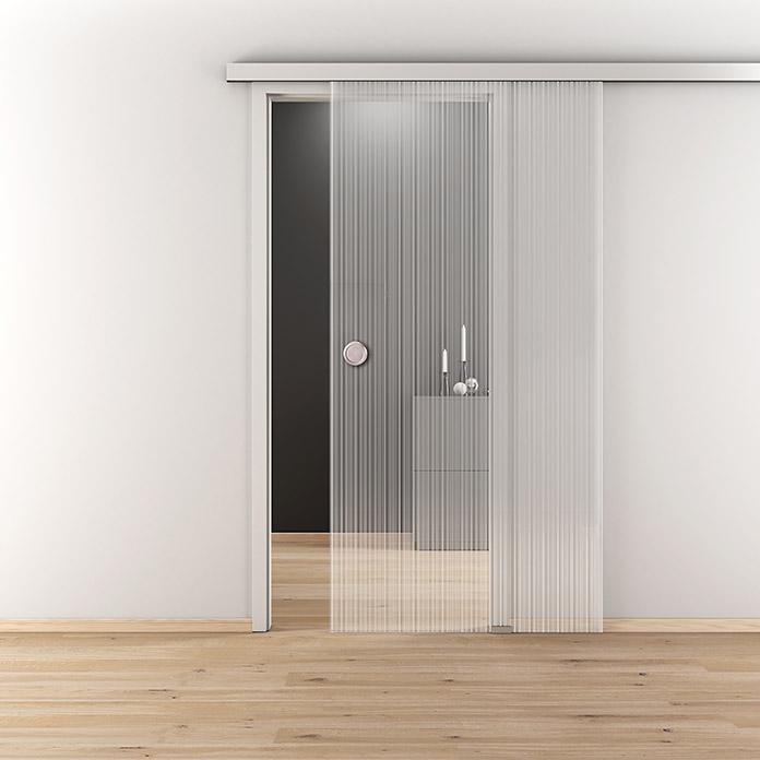 DIAMOND DOORS Porta scorrevole in vetro Nature Lines