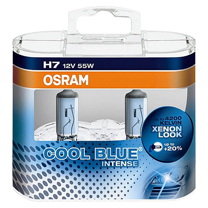 OSRAM Cool Blue Halogen-Scheinwerferlampen Set Intense