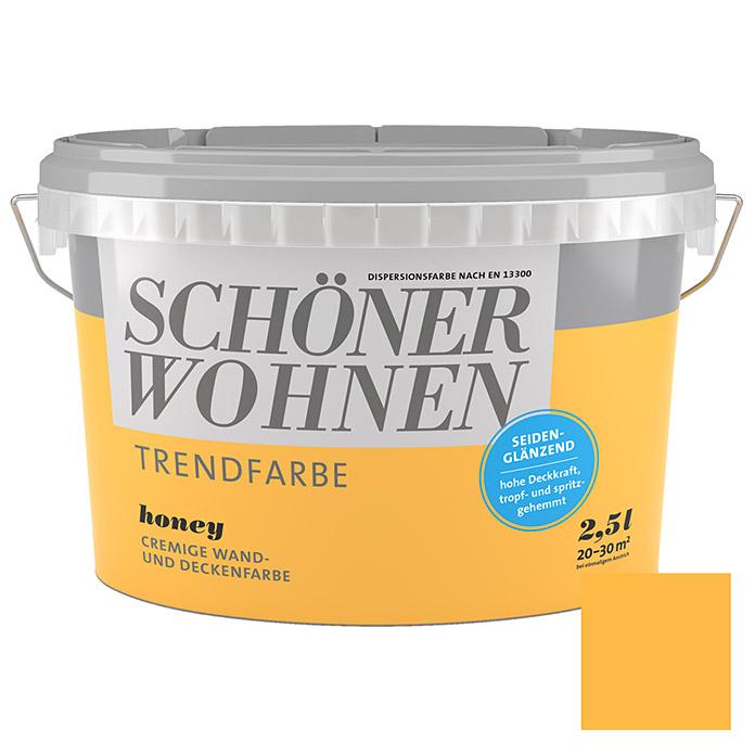 SCHÖNER WOHNEN Trendfarbe Honey
