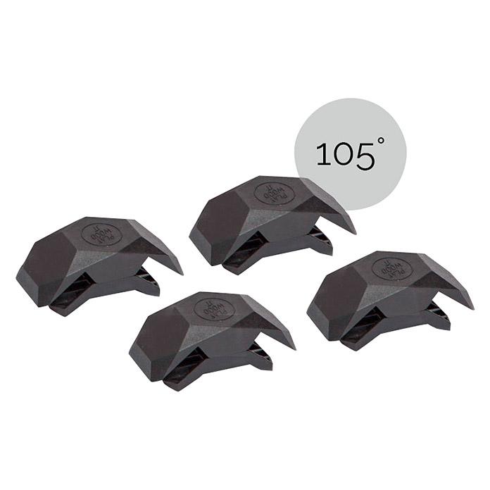 Connecteur 105° noir PlayWood