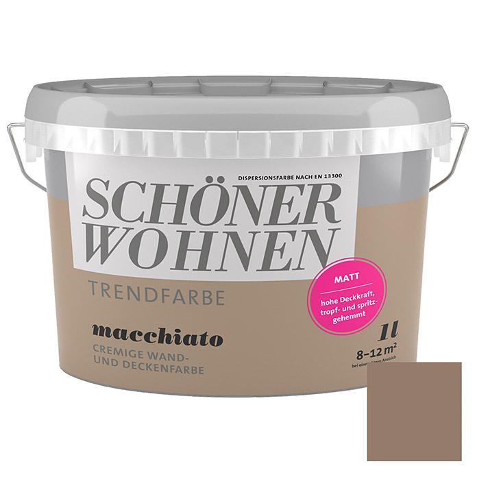 Peinture tendance SCHÖNER WOHNEN Macchiato