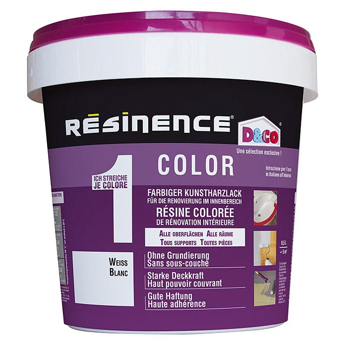 Vernis à la résine synthétique colorée Résinence Color