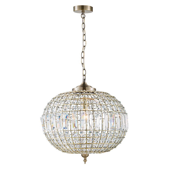 Suspension home sweet home Crystal