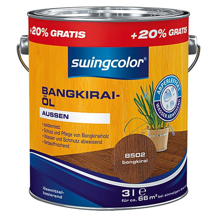 Huile de bangkirai swingcolor
