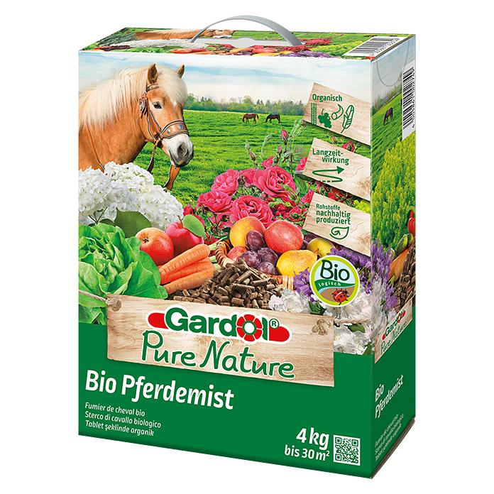 Fumier de cheval Pure Nature Bio Gardol