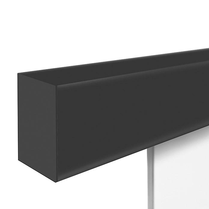 DIAMOND DOORS Schiebetüresystem Loft Black Edition