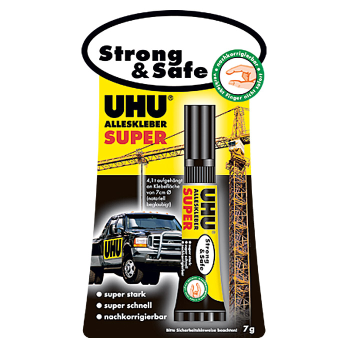 Colle universelle UHU Super Strong & Safe