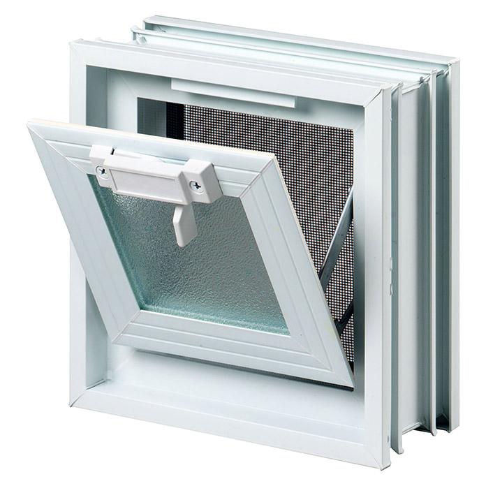 Fenêtre d'aération fuchsdesign avec moustiquaire