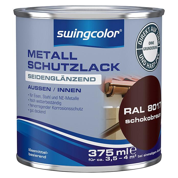 Vernis de protection swingcolor métallique brun chocolat