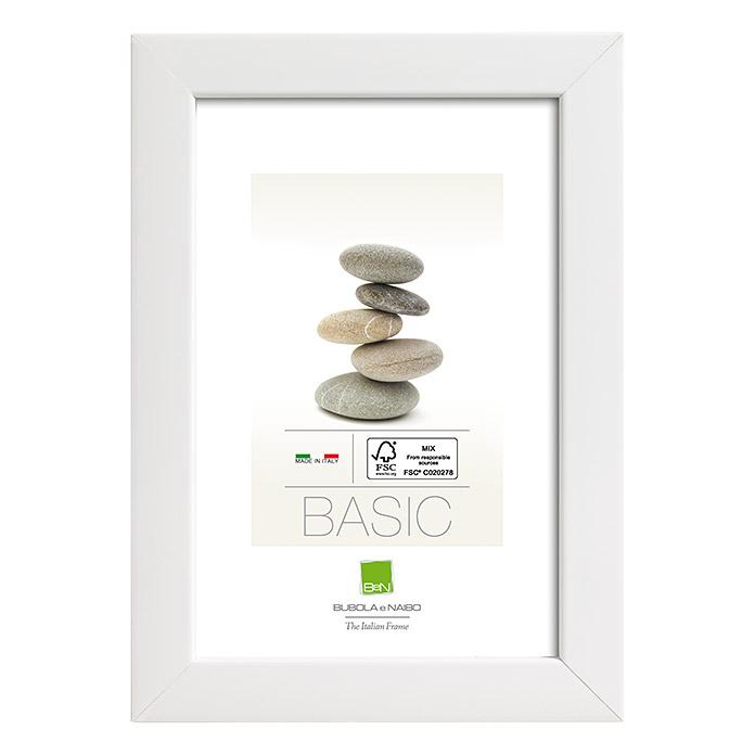 Cadre photo en bois 4405 blanc 21 x 29.7 cm