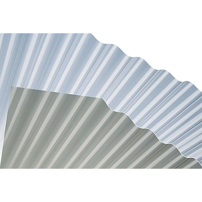 Plaque ondulée en plexiglas resist
