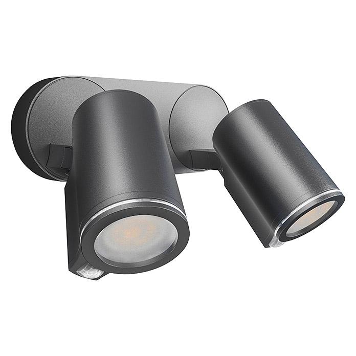 STEINEL Sensor LED-Aussenwandstrahler Spot Duo