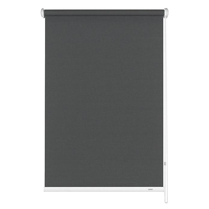 Basic Seitenzug-Rollo Grau 142 x 180 cm