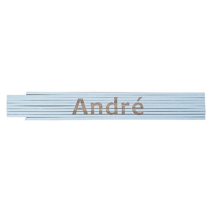 Mètre pliant André