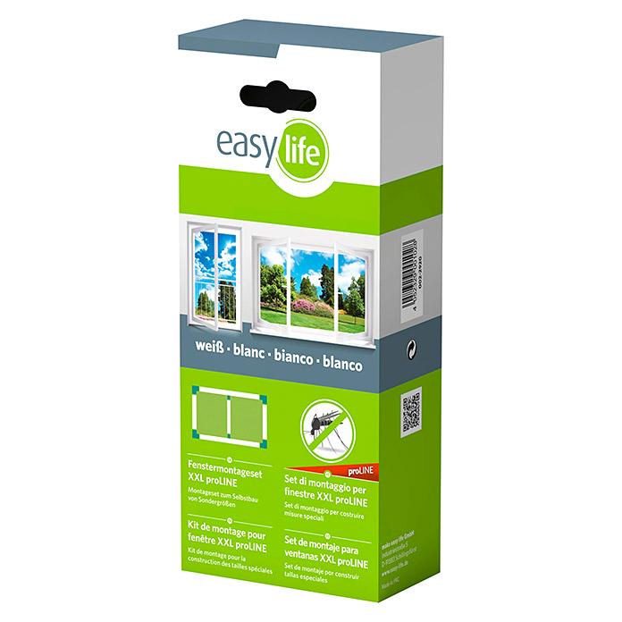 Kit de montage de fenêtre XL easy life blanc