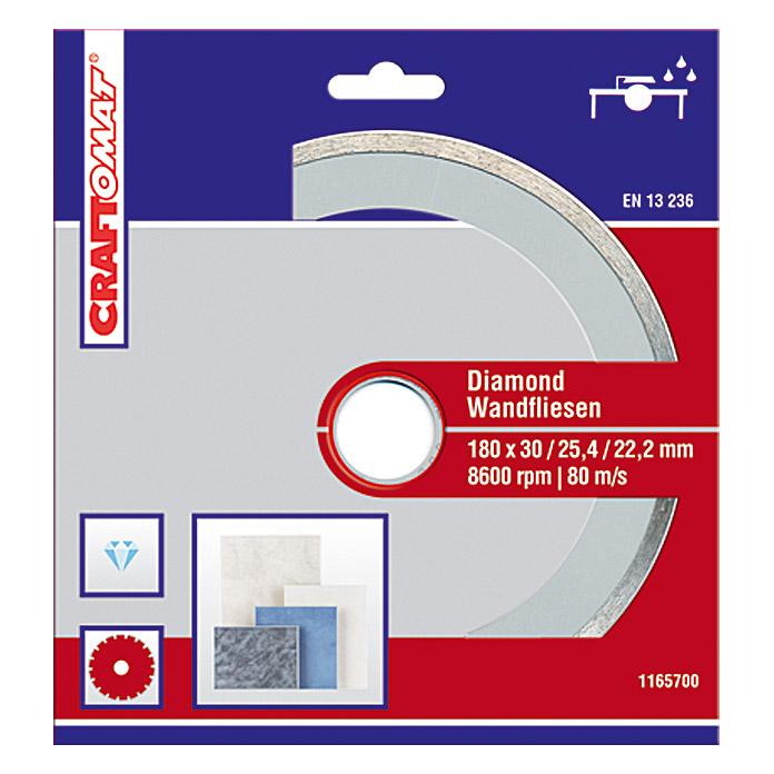 Disque de tronçonnage diamanté Craftomat