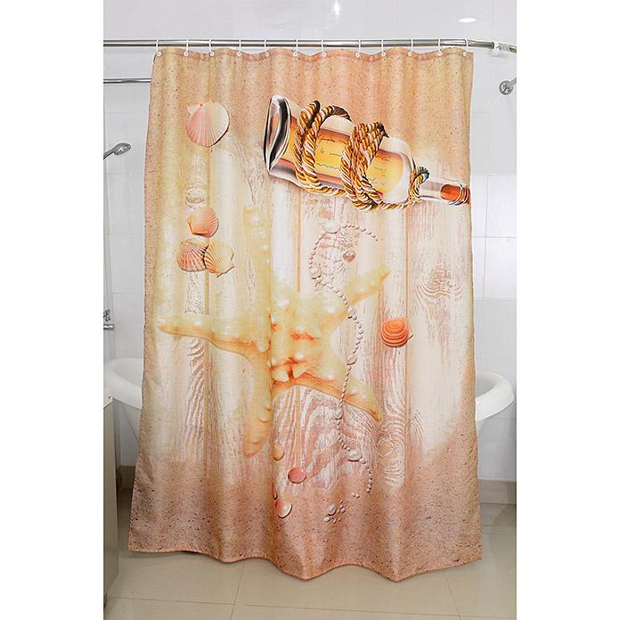 VENUS Textil-Duschvorhang Sealife