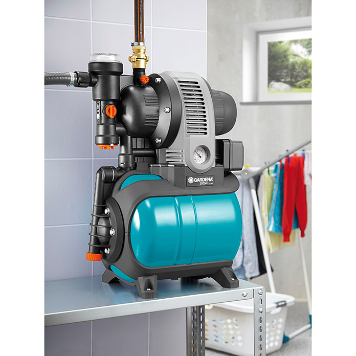 GARDENA Classic Hauswasserwerk 3000/4 eco