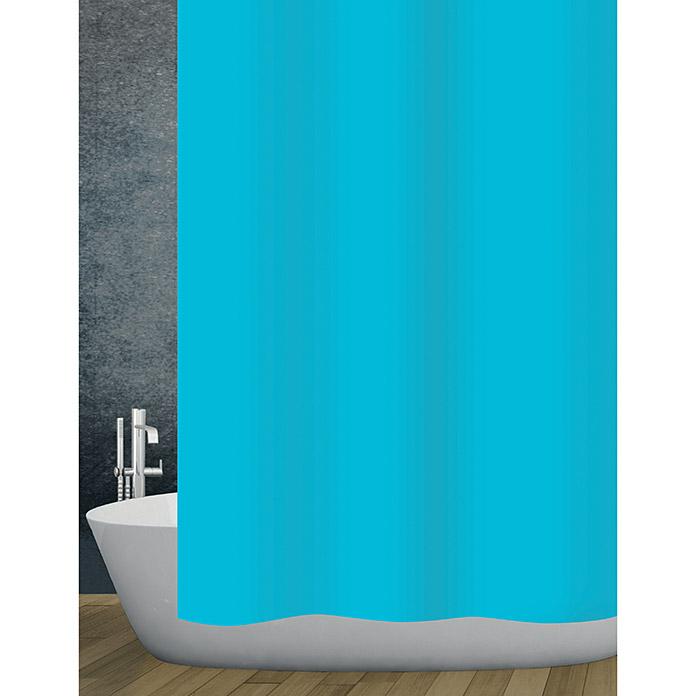 diaqua Textil-Duschvorhang Basic Aqua